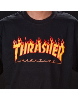thrasher flames tee