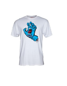santa cruz camiseta screaming hand