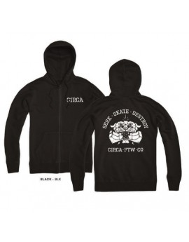 c1rca zip hood tiger black