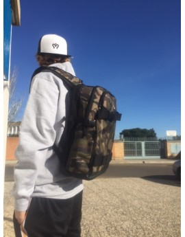 imagine skate backpack camo