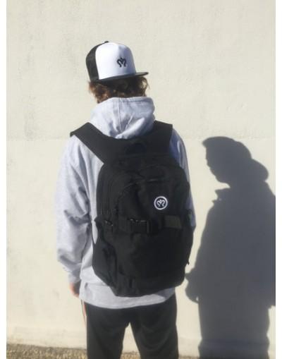 imagine skate backpack black