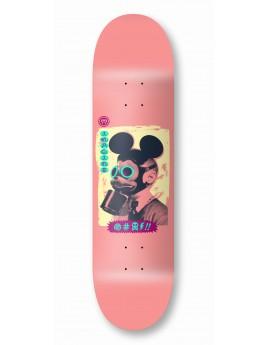 imagine deck mickey mask pink