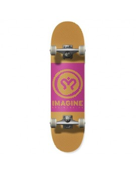 imagine skate complete hipnotic orange